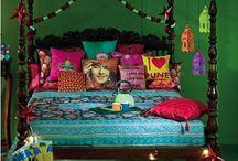Boudoir  / Bedroom decor.