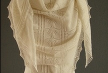 ❅ Knitting LACE Shawls & Wraps ❅ / Shawls, wraps and scarfs in Lace ( lace stitches)