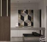 1 - Foyer / Foyer and hall interiors :: Прихожая и холл
