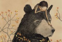 Beautiful art / inspiring works of art that makes my heart swell... / by Tara Waugh