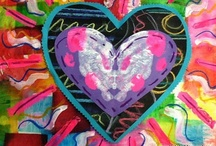 ArtEd- Valentines, hearts, Jim Dine / by Donna Staten