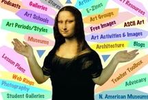 Art websites, blogs, resource / by Donna Staten