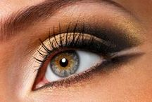 I have EYEs for you / Beautiful eyes - artful makeup - inspirational colours