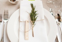 * Seat * / Place Settings - because there's more to a meal than just the food.
