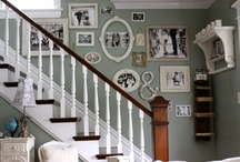 Temporary Pinboard for Upstairs Project / by Liz Rascher