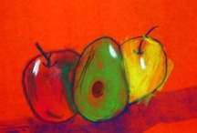 ArtEd- Apple Art / by Donna Staten