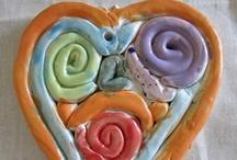 ArtEd- Clay hearts & holidays