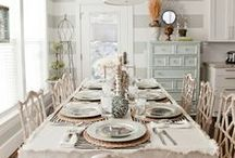 Dinning Room decor / by Jill Ligon