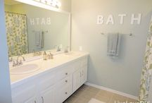 Bathroom decor  / by Jill Ligon