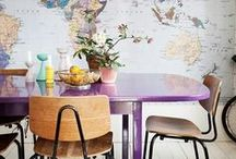 Travel home decor / Decorate your home like a true traveller. Here is some home decor inspiration from Rough Guides.