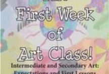 ArtEd- Start the Year / by Donna Staten