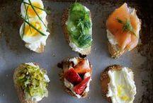 FOOD // Snacks & Apps / Homemade savory goodness to make and share.