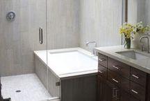 DESIGN // Le Bain / Bathroom Tiling Ideas