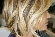 HAIR AND BEAUTY / to makeup and styles I like that inspire me / by Jeannie Wirey