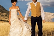 Western Weddings / Add a little western style for the ultimate romantic, rustic western wedding day!