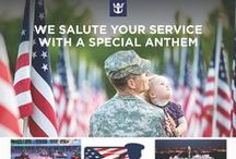 Military Travel / If you want to SUPPORT OUR MILITARY - Follow us here!  EIT provides MILITARY VACATION SPECIAL DEALS. EIT will be hosting a MILITARY CRUISE on Royal Caribbean's *NEW* ANTHEM OF THE SEAS @ 04/30/2016. Cruise departs from Cape Liberty, NJ to beautiful Bermuda. Army saw a need for travel agents to help returning deployed soldiers plan their family vacation. Excellence in Travel has been recommended as that Travel Agency!  Call 937-879-5702. #militarydeals #militarydiscounts #militarycruise