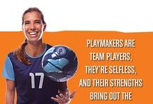Meet our Playmakers / Our Playmaker ambassadors are all world class professionals athletes, champions, and represent what it means to be a playmaker on and off the field.