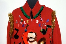 Ugly Christmas Sweaters / Love Ugly Christmas Sweater Parties!!! Here are a few of my favorite Ugly Christmas Sweaters. Merry Christmas!