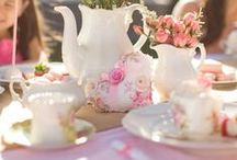 Tea Parties + Afternoon Tea / The joy of Tea Parties...Afternoon Tea...High Tea!