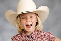 Western Kids / Nothing cuter than little ones with their own Cowboy & Cowgirl clothes like Mom & Dad!