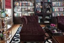 Library + Reading Nooks