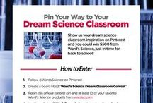 Ward's Science Dream Classroom Contest / Contest is now closed. Congrats to our winners! Pin to Win one of four $500 Ward's gift cards! Show us the science classroom you've always dreamed of on Pinterest. We've pinned some examples here to get you started. More contest details at wardsci.com/wardsdreamlab! Official contest pin: Repin and follow steps to win one of four $500 Ward's gift cards! Respond to this pin with the web address of your contest board to enter. Contest ends 9/9 at 11:59pm ET. #WardsDreamLab