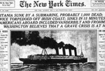 Lusitania: Dead Wake / A visual companion to Erik Larson's Dead Wake (published March 2015), which tells the story of the sinking by a German U-boat of the luxury passenger liner RMS Lusitania on May 7, 1915.