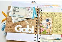 CRAFT journal / Aquelas lindezas cheias de colagens e memórias.