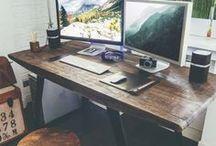OFFICE / Inspirations de décoration de locaux d'entreprises, de bureaux, d'extérieurs...