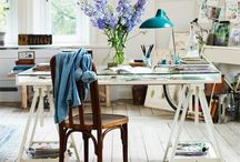 Studio and Office / Decorating the office and studio, dream studio, work