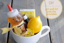 DIY: gift ideas / ideas and tutorials for simple gifts to give