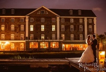 The Venue: Historic Rice Mill Building / Our exclusive Waterfront Venue in Charleston, SC.  Perfect for Weddings, Corporate Events, or any gathering!