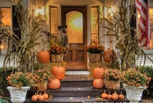 decorating for fall, r holidays / by Linda McKinney