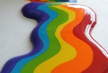 *ravishing rainbows* / Colors of the rainbow. / by Cheri Rollo