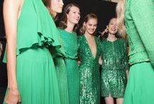 *GREEN fashion* / Green shades of clothes and dresses. / by Cheri Rollo