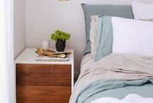 Bedroom Style / Inspiration for bedroom decor, styling, etc.
