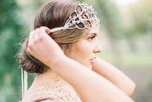 Head Pieces / Crowns, Floral Wreaths & Hair Accessories  / by Kim Jansen Van Rensburg