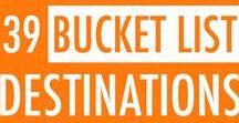 Bucket List / My Pinterest-style bucket list....
