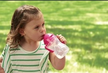 the essential sippy cup / Our award winning sippy cup features our popular innovative weighted straw that lets tiny tots drink to the very last drop