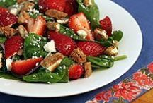 { SOUPS AND SALADS } / Delish Soup and Salad Recipes / by Shannon Smith