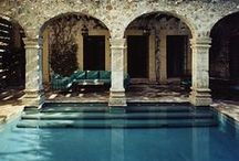 Beautiful Pool & Patios / by Kristine Woolf
