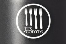 JusComte / Brand development for the gourmet brand JusComte.  www.juscomte.de