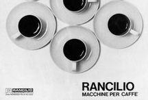 Rancilio's Graphic Board / vintage posters, photos, logos and other materials