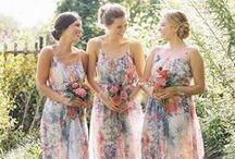 The Bridesmaids / by Kim Jansen Van Rensburg