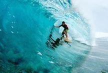 "let's surf / ""Surfing is like therapy. I don't see a shrink, I see the waves."" ~  Van Dorph"