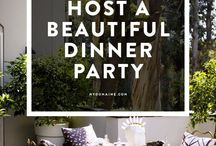 Dinner Party/Themed Planning / Dinner party ideas for adults, family, and kids!!! And themed meals.