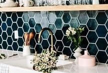 House of Bren Kitchen Style / My love affair with kitchen designs (and things that go in them) since I cook for a living. And ultimately, everything happens in the cocina.