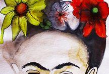 Frida fascination! / Anything Freida Kahlo inspired