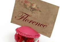 Mariage Macarons Gourmand / thème macaron, bonbon pâtisserie / by Artesa Créations