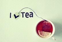 Tea.  / apparently tea cures everything :P / by Kaylyn Leigh Braga
